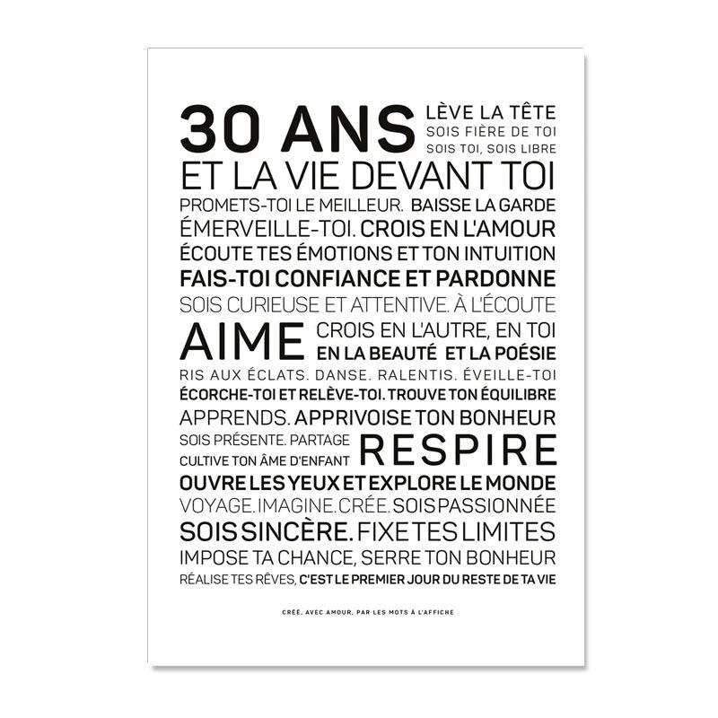 30 cadeaux pour ses 30 ans @bonjourbibiche