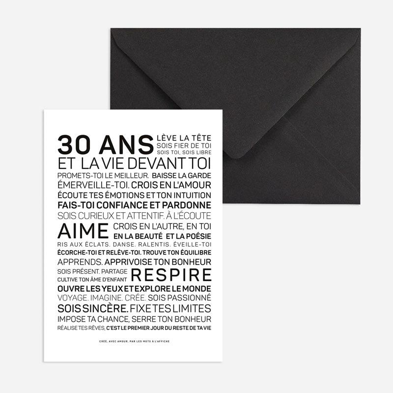 30 idées cadeaux pour 30 ans @bonjourbibiche