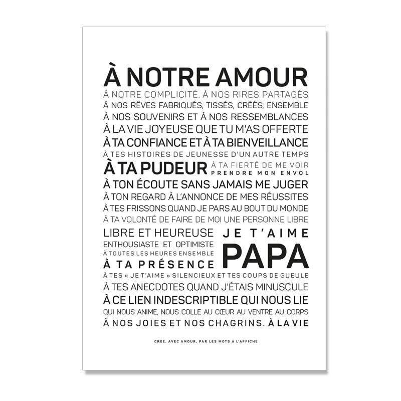 Citation Fête des pères @bonjourbibiche